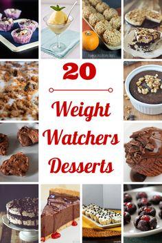 Weight Watchers Desserts Recipes