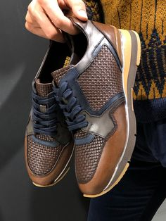 GentWith Eva Brown Laced Sneakers (2) Tan Shoes, Sock Shoes, Casual Shoes, Nike Shoes, Oxford Shoes, Dress Shoes, Lace Sneakers, Leather Sneakers, Leather Heels