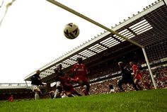 United score at Anfield