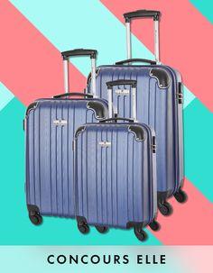 Votre set de valises complet Le Monde du Bagage - Elle   coucou bonjour voici les réponses.Bonne chance:: Paris Saint-Germain , R2 : 5 , R3 : Dans un parc animalier , R4 : Seattle