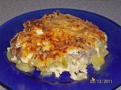 Kartoffel-Lauch-Auflauf, ein leckeres Rezept aus der Kategorie Gemüse. Bewertungen: 12. Durchschnitt: Ø 4,4. Ground Beef, Lasagna, Macaroni And Cheese, Good Food, Food And Drink, Potatoes, Healthy Recipes, Dinner, Vegetables