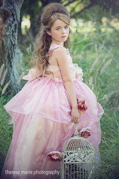 """Soiree At Sunset""...One of Our Elegant Flower Girl Dresses"