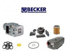 Repair and Maintenance kit for Becker combined pump DVT 3.140