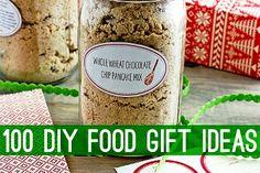 100 DIY Food Gift Ideas