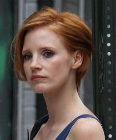 Short Hairstyles - Jessica Chastain