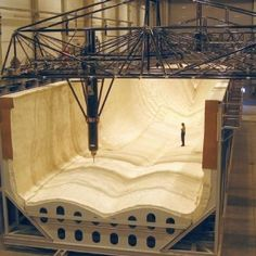 Over 100 metres reach lets CNC machine