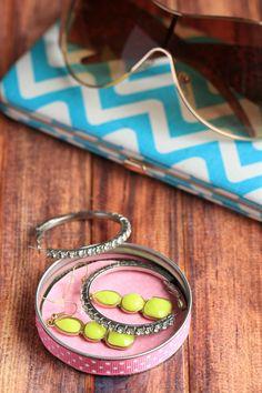 Mason Jar Lid Jewelry Dish | FaveCrafts.com