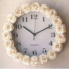 Inspiração para relógio. #decor #decora #Casa #home