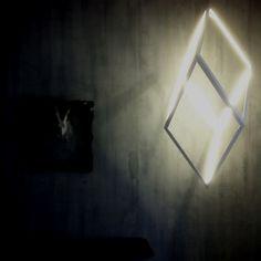 ORP: Oblique Rhombic Prism by Christopher Boots.   Location: The Establishment, 23 Grattan St, Prahran, Victoria.