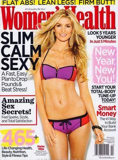 Magazines for fitness Inspiration - Women's Health Feb 2012