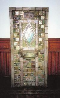 Historic water fountain installation at Old Main Amazing Photos, Cool Photos, Pewabic Pottery, Mosaic Madness, Antique Tiles, Water Fountains, Tile Installation, Detroit Michigan, Arts And Crafts Movement