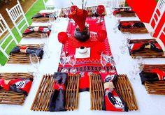 Red Amp Black Swazi Traditional Wedding Decor At Shonga Events South African Wedding Dress, African Wedding Theme, African Wedding Attire, African Weddings, African Traditional Wedding Dress, Traditional Wedding Decor, Wedding Table Centerpieces, Wedding Decorations, Wedding Ideas