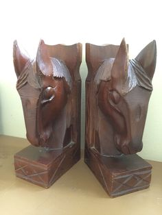 A personal favorite from my Etsy shop https://www.etsy.com/listing/233908361/vintage-horse-bookends