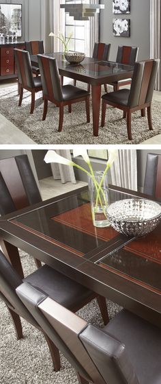 Sofia Vergara Savona Chocolate 5 Pc Rectangle Dining Room Find Affordable Sets For Your Home That Will Complement The Rest Of Furniture