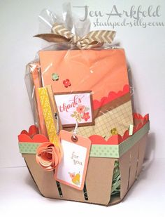 Stamped Silly: Berry Basket full of Cards!