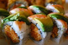 Sushi not only tastes good, but it's also very good for you. The basic elements of sushi are vinegared rice, dried seaweed nori, vegetables, and fish. Traditional sushi is low in calories while also high in fiber, vitamins, and omega-3 acids. When eaten in moderation, sushi can be a healthy and delicious meal.