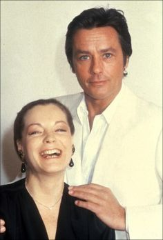 Alain and Romy in 1980