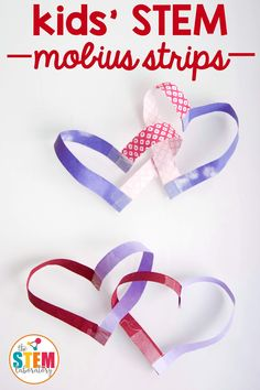 """If you thought the heart was the most romantic shape, then it's time to meet the Möbius strip. When two of these famous mathematical surfaces are placed together, you'll end up with two interlocking hearts. Nothing says """"I love you"""" better than a little mathematical wonder! All you need to make this mathematical statement of love is paper, scissors, and tape. That's it! What is"""