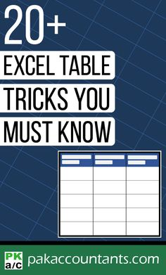 Excel Table tricks to turbo charge your data Learn why Excel tables are awesome in this feature back tips and tricks package on tables. Free Excel tips, tricks, dashboard templates, formula core book and cheat sheets. Excel Cheat Sheet, Cheat Sheets, Computer Help, Computer Programming, Computer Tips, Tips And Tricks, Vba Excel, Microsoft Excel Formulas, Computer Shortcut Keys