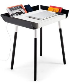 PC wooden writing #desk with drawers MY SMALL WRITING DESK - EMKO UAB