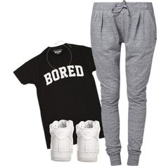 Bored, created by rayray669 on Polyvore