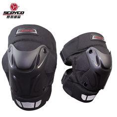 [Visit to Buy] Motorcycle Protective kneepad SCOYCO k15-2 motocross knee protection ,motorcycleinter Warm Windproof armor #Advertisement