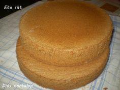 Diós tortalapok Choco Fresh, Poppy Cake, Torte Cake, Hungarian Recipes, Winter Food, Hot Dog Buns, Cake Recipes, Cake Decorating, Bakery