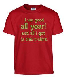 i was good all year | Teespring