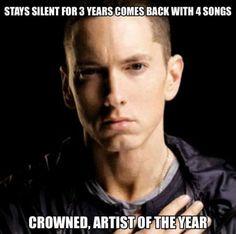 May the king of rap live on Eminem Eminem Memes, Eminem Rap, Eminem Videos, Best Rapper Ever, Best Rapper Alive, Eminem Photos, Eminem Slim Shady, Why I Love Him, Rap God
