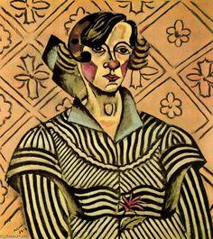 Portrait of Juanita Obrador, Joan Miró.