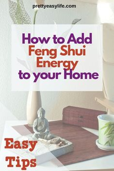 Simple ways to start applying Feng Shui in your home for a better life. Find out how to add Feng Shui good vibes in your kitchen, living room, bathroom and how declutering your home can add good Feng Shui to your life. Feng Shui Basics, Feng Shui Rules, Feng Shui Items, Feng Shui Principles, Feng Shui Art, Feng Shui House, Consejos Feng Shui, Feng Shui Bathroom, Feng Shui Your Bedroom