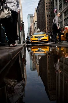 NYC Photography #reflection #nyc