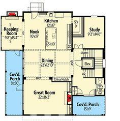 House Plan 52775 Level Two House Plan Pinterest