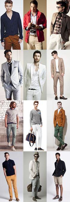 Seasonal Appropriate Options - Belts, Suits and Footwear