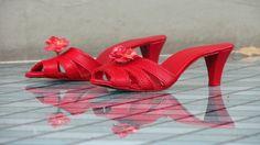Prent: de rode schoentjes van de Efteling