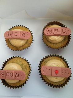 Get Well Soon Cupcakes By Laceycalkins on CakeCentral.com