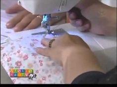 ▶ Patchwork Ana Cosentino: Bolsa Triangulos Pequena (Especial Ateliê na TV) - YouTube