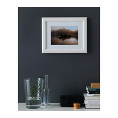 VIRSERUM Frame - white - IKEA, 7.99  FOR LEFT OF FIREPLACE