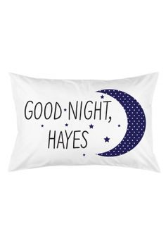 Limited Edition Hayes Grier Pillow Case