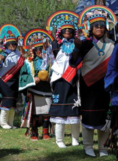 ~ Zuni Dancers @ Bandelier ~