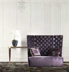 Bell 2 Seaters Sofa  Roberto Cavalli Home Interiors  #RobertoCavalliInteriors