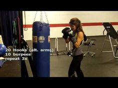 Heavy Bag Workout with Jessica - YouTube