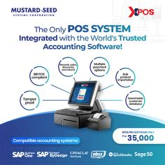 XPOS Pro the only POS System compatible with the world's trusted and reliable accounting software! Equipped with complete features, this user-friendly POS software solution does everything from sales processing, stock management, customer accounts, record maintenance, and more. For more info, CONTACT: RJ De Guzman 8535-7333 local 316 +63 956 162 4097 roy@mseedsystems.com Sage 50, Accounting Software, Do Everything, Pos, Management, This Or That Questions, Medium, Business, Store