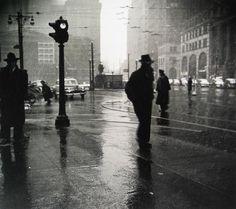 Rain, 1945 - Arthur Leipzig - Artists - Jackson Fine Art - Photography - Atlanta