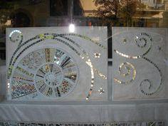 SHELL   pannello d' arredo  cm 60 x110 studio desideria riccione.