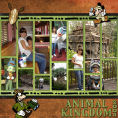 Animal Kingdom General - Page 3 - MouseScrappers.com