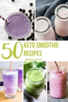 This list of 50 Keto Smoothie Recipes is full of delicious, healthy, and energizing low-carb smoothie recipe ideas! This list of 50 Keto Smoothie Recipes is full of delicious, healthy, and energizing low-carb smoothie recipe ideas! Keto Smoothie Recipes, Low Carb Smoothies, Apple Smoothies, Green Smoothies, Keto Breakfast Smoothie, Healthy Recipes, Banting Recipes, Ketogenic Recipes, Delicious Recipes