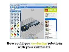 How could you co-design solutions  with your customers.