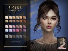 Sims 4 Tsr, Sims Cc, Club Hairstyles, Female Hairstyles, Pelo Sims, Sims 4 Collections, Sims4 Clothes, Sims 4 Cc Packs, David Sims