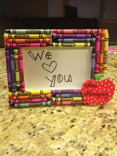 Best Sister Ever! DIY teacher gift